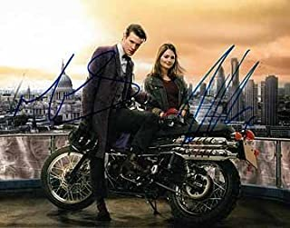 DOCTOR WHO (Matt Smith and Jenna Coleman) 8x10 Cast Photo Signed In-Person