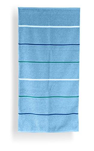 Santens SC00235100 Grana Drap de Bain Coton Turquoise 103 x 150 cm
