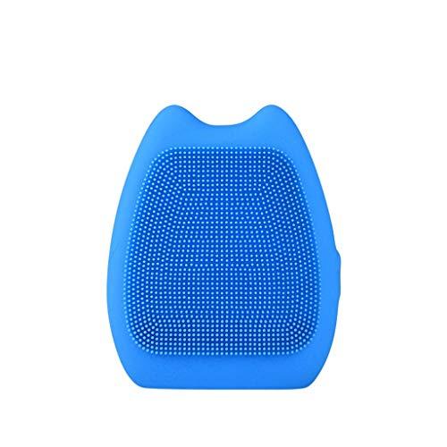 Pinceau Instrument de Lavage Silicone électrique Instrument de Nettoyage imperméable Brosse de Lavage de Batterie for Installation à Domicile Liuyu. (Color : Blue)