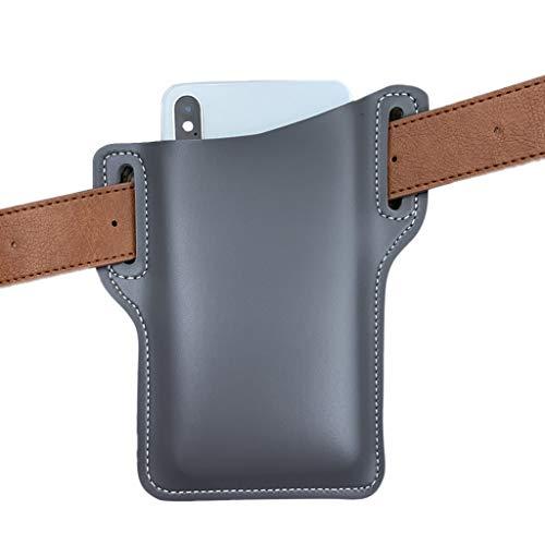 WT-DDJJK Black Friday Sales 2020, riñonera, cinturón de Cuero Artificial para Portador de teléfono móvil, riñonera para teléfono móvil, riñonera