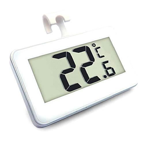 Kühlschrank-thermometer Digital Wireless Kühlschrank Gefrierschrank Temper-monitor Von 20 Bis 60 Grad 4-140 F Mit Haken Großen Lcd-display