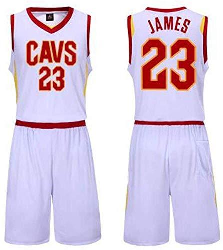 DHFDHD Jersey de Baloncesto NBA Baloncesto Ropa Traje Masculino, James Camiseta con el número 23 Cavaliers, Kobe Bryant Camiseta con el número 24, Lakers Camiseta de Baloncesto