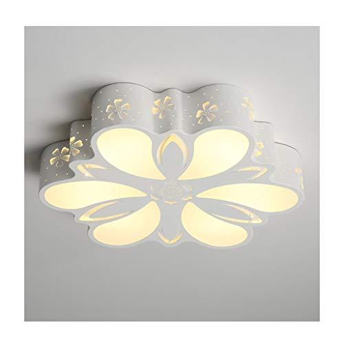 GPZ-iluminación de techo Luz de techo Moda moderna LED Regulable Acrílico Hueco Hierro forjado Decoración de la habitación Dormitorio Estudio Comedor Balcón Lámparas de techo [Clase energética A ++]
