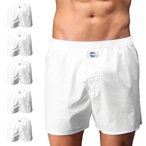 D.E.A.L International 5er-Set Boxershorts, Weiss Size XL