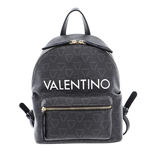 Valentino by Mario ValentinoLiutoMujerBolsos mochilaMarrón (Negro Multicolor)14x32x27 centimeters (B x H x...