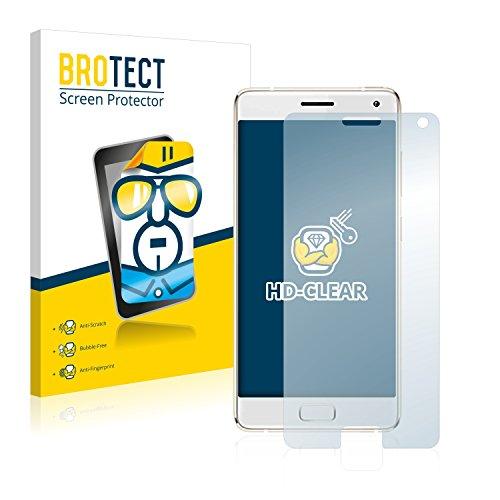 BROTECT Schutzfolie kompatibel mit ZUK Z2 Pro (2 Stück) klare Bildschirmschutz-Folie