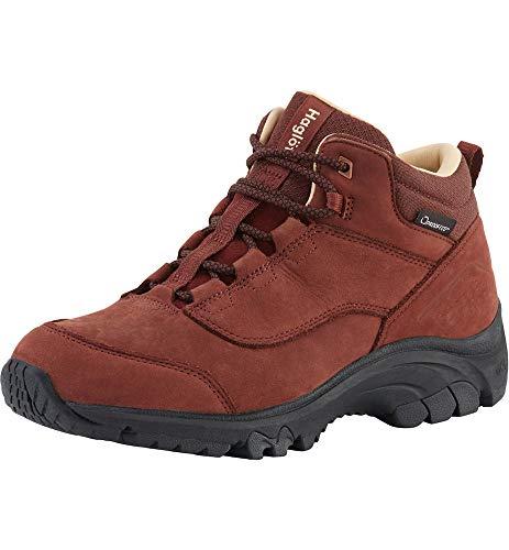 Haglöfs 498400, Chaussures de Cross Femme, Rouge (Maroon Red 48l), 39 1/3 EU