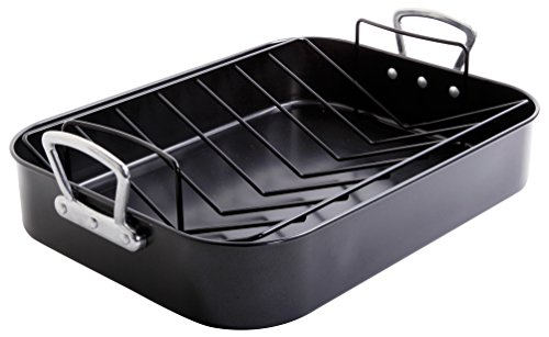 Roasting Pan with Handles and Rack