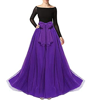 Best purple tulle maxi skirt Reviews