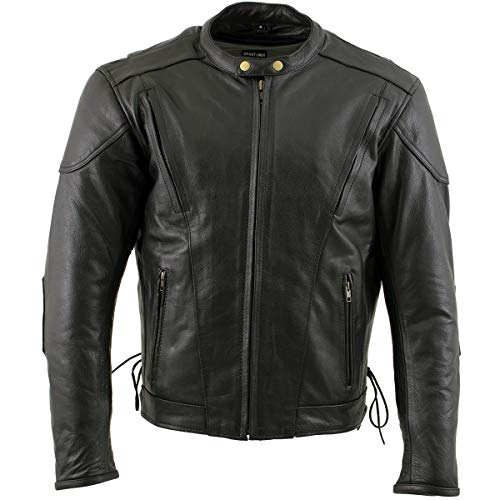 Xelement Motorcycle Jacket with Zip-Out liner