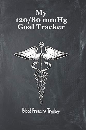 My 120/80 mmHg Goal Tracker Blood Pressure Tracker