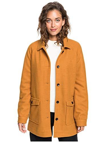 Roxy Keep ME Warm - Wool-Look Coat for Women - Mantel mit Woll-Look - Frauen