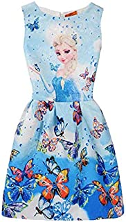 Frozen Special Occasion Flower Girl Dress For Girls