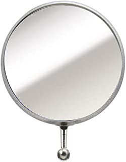 30mm 50mm Round Circular Inspection Telescopic Extendable Mirrors 2pc Kit