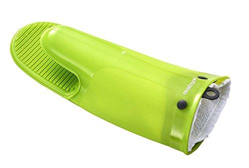 MASTRAD - Gant Silicone et Coton - Orka® TEX - Rainures Anti-Dérapantes - Très Résistant - 30 cm - Vert