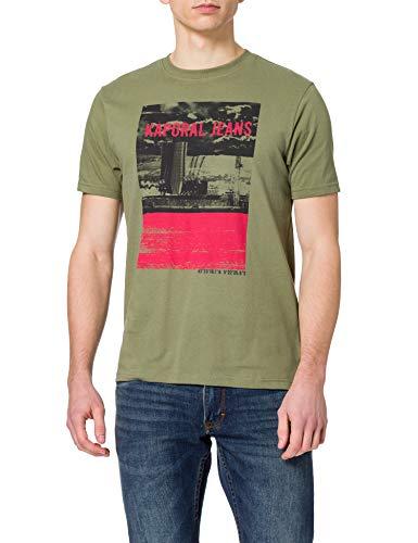 Kaporal Dock Tee Shirt à Manches Courtes, Ligkak, L Homme