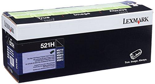 Lexmark 52D1H00 MS710 MS711 MS810 MS811 MS812 Toner Cartridge (Black) in Retail Packaging