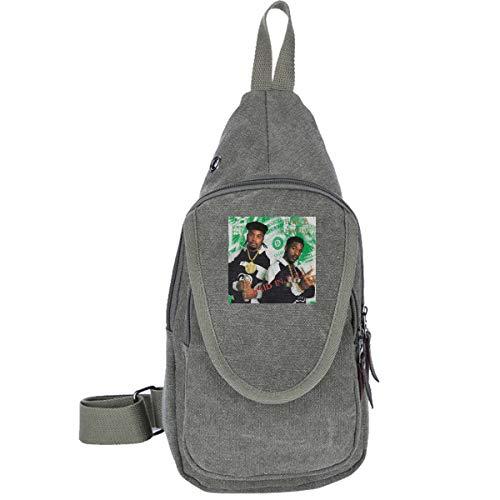 AHISHNF Eric B & Rakim Paid In Full Shamrock Irish St Patrick Lucky Charm Reise-Brusttasche für Männer & Frauen Mehrzweck-Rucksack Tagesrucksack Wandern Schultertasche