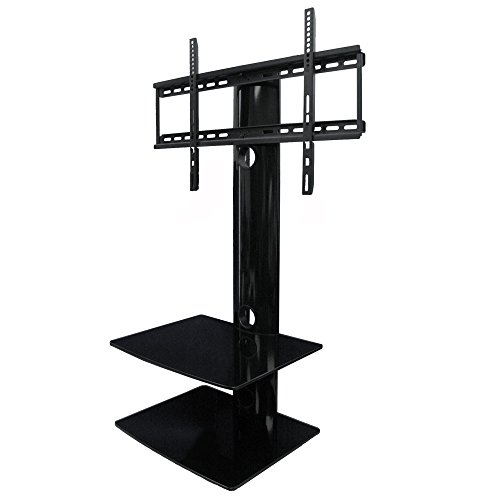 Amazing Deal Swiveling TV Wall Mount with Two Shelves (Shelf)
