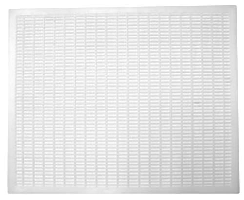 Plastic 10-Frame Queen Excluder | Keeps Queen Away from Honey Supers | Essential Beekeeping Equipment for Beekeepers Looking to Harvest Honey | Durable Plastic Will Not Rust or Rot