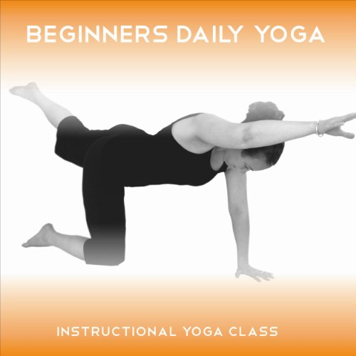 Beginners Daily Yoga audiobook cover art