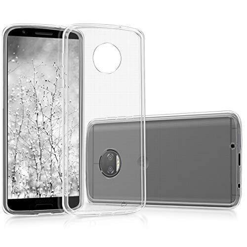 kwmobile Hülle kompatibel mit Motorola Moto G6 Plus - Handyhülle - Handy Hülle in Transparent