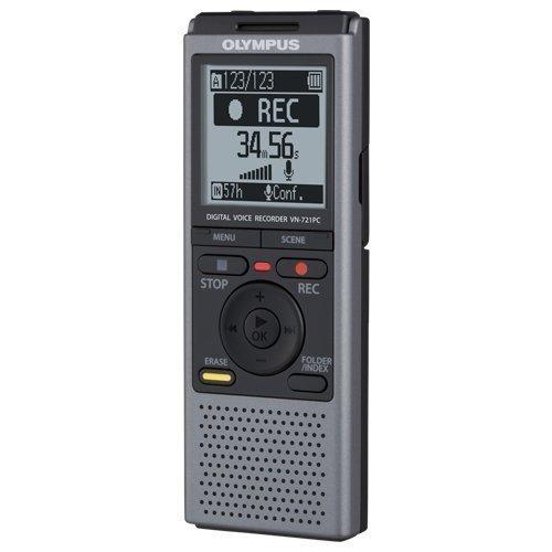 Olympus VN721PC Digitales Diktiergerät (2 GB)