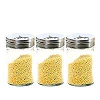 調味料ディスペンサー、3つの多機能ステンレス鋼回転調節可能な調味料ボトル、携帯用調理器具、ソルトペッパースパイスで使用