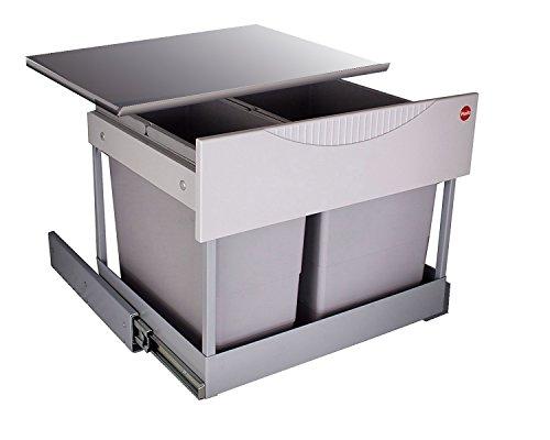 Hailo 3644801 Abfallsammler TR Swing 60.2/30M für Schränke von 600 mm Breite mit Drehtür