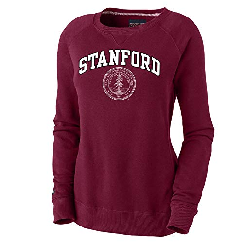 Shop College Wear Stanford Cardinals Women's Crew Neck Sweatshirt-Cardinal