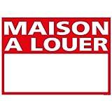 Panneau - Maison A Louer - Plastique rigide AKILUX 3,5mm - Dimensions 700 x 500 mm - Protection Anti-UV