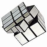 Vdealen Mirror Cube, Cubo de Espejo 3x3 Plateado M├бgico, 57mm