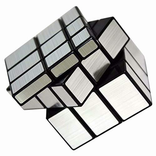 Vdealen Mirror Cube, Cubo de Espejo 3x3 Plateado Mágico, 57mm