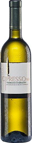 6x 0,75l - 2018er - Cipresso - Trebbiano d'Abruzzo D.OC. - Abruzzen - Italien - Weißwein trocken