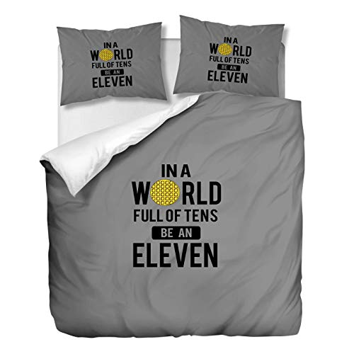 OliveSleep Stranger-Things Theme Duvet Cover Set Single Size,Quilt Cover Set Decorative 2 Piece Bedding Set with 1 Pillowcase, (Multi 23, Single)