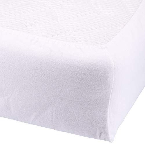 Setex Molton Köper Matratzenschutz Spannbetttuch Baumwolle Basic Weiß Matratze