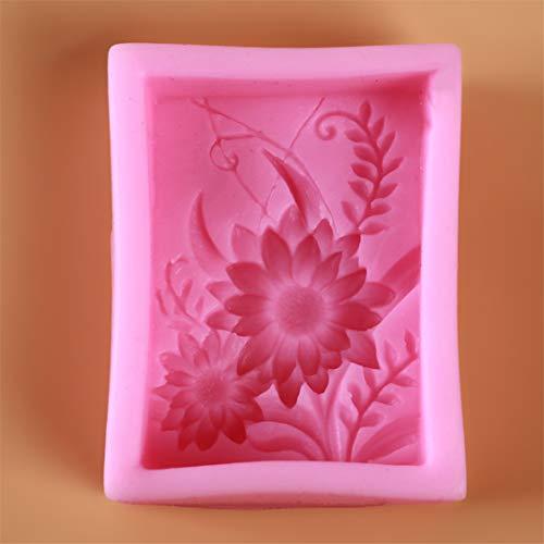 Idiytip Forme du Savon Silicone Moule 3D Cookware Décoration Fondant Biscuit Moule Savon Moule à Chocolat