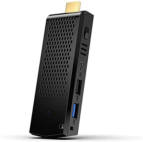 Mini PC, 8 GB DDR3 / 128 GB eMMC Intel Atom Z8350 Windows 10 Pro 64 bit Mini Computer Stick, 4K HD/Bluetooth 4.2/Dual Band WiFi/USB 3.0