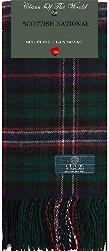 I Luv Ltd Scottish National Tartan Clan Scarf 100% Soft Lambswool