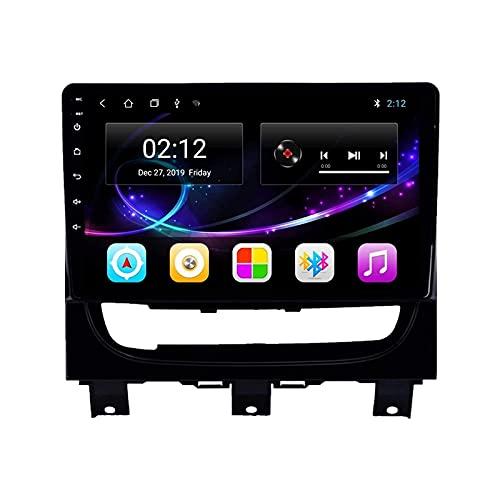 MISSLYY Coche EstéReo De NavegacióN GPS Sistema para FIAT Strada Idea 2012-2016, Auto Bluetooth IPS Pantalla TáCtil Coche Radio EstéReo Multimedia MúSica Player 9/10inch (4g+WiFi)
