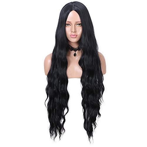 YMHPRIDE Lady/Damen Perücken Fashion Braun Ombre Hitzeresistente Synthetik gerade Perücke Sieben Farbe sind erhältlich 55,9 cm (1B)