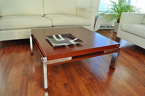Carl Svensson Design Couchtisch Tisch K-222 Kirschbaum Kirsche Chrom