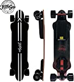 Teamgee H20 39' Electric Skateboard with Remote Long Boards Skateboard Designed for Teens and Adults, 26PMH Top Speed, Hub Motors 1080W, 30KM Range, 4 Speed Adjustment