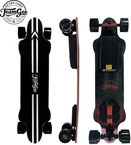 Teamgee H20 39' Electric Skateboard with Remote...