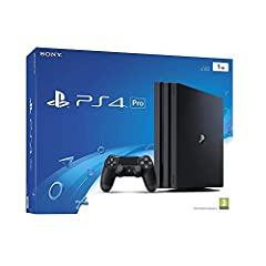 PlayStation 4 Pro - the super charged PS4 - take play to the next level with PS4 Pro: See every detail explode into life with 4K gaming and entertainment, experience faster, smoother frame rates and more powerful gaming performance and enjoy richer, ...