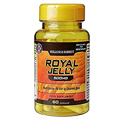 Holland and Barrett Royal Jelly - 500mg - 60 Capsules