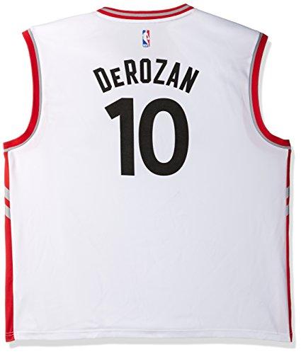 NBA Men's Toronto Raptors DeMar DeRozan Replica Player Home Jersey, 3X-Large, White