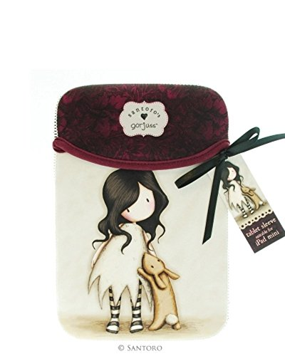 Gorjuss - funda para iPad Mini, modelo I Love You Little Rabbit, 20 x 14 cm