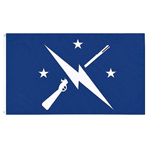 ProFlagStars Fallout Flagge, Commonwealth Minutemen-Flagge, Exklusives Fallout Merchandise für Innen- und Außenbereich, 100% Polyester, 91,4 x 152,4 cm