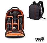 Osaka Pro Series-11 Waterproof DSLR Backpack Camera Bag, Lens Accessories Carry Case